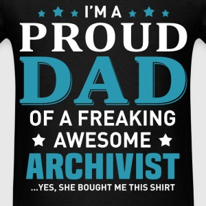 Archivist's Dad - Men's T-Shirt