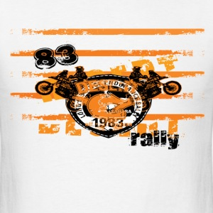 Motorbike Racing Rally  - Men's T-Shirt