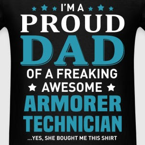 Armorer Technician's Dad - Men's T-Shirt