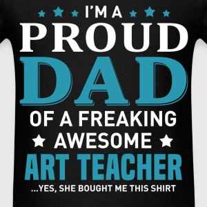 Art Teacher's Dad - Men's T-Shirt