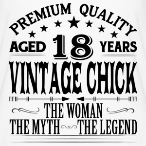 VINTAGE CHICK AGED 18 YEARS T-Shirts - Women's Flowy T-Shirt