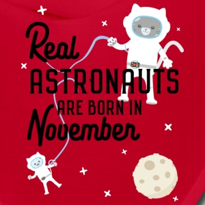 Astronauts are born in November S5l6j Caps - Bandana
