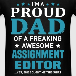 Assignment Editor's Dad - Men's T-Shirt