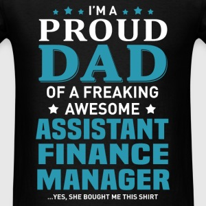 Assistant Finance Manager's Dad - Men's T-Shirt