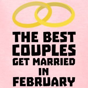 The Best Couples in FEBRUARY S7kl1 Kids' Shirts - Kids' T-Shirt