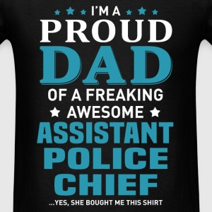Assistant Police Chief's Dad - Men's T-Shirt
