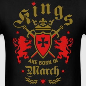 Kings March King Lions Knight Shield Birthday Tee - Men's T-Shirt