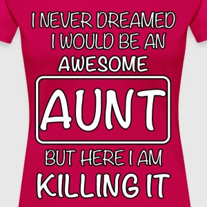 Awesome Aunt T-Shirts - Women's Premium T-Shirt