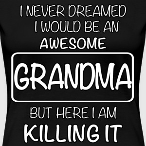 Awesome Grandma T-Shirts - Women's Premium T-Shirt