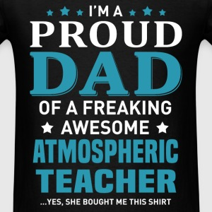 Atmospheric Teacher's Dad - Men's T-Shirt