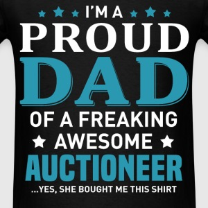 Auctioneer's Dad - Men's T-Shirt