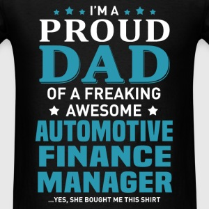 Automotive Finance Manager's Dad - Men's T-Shirt