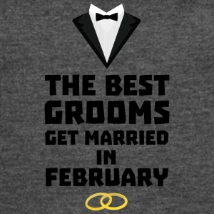 The Best Grooms in FEBRUARY Sn77z T-Shirts - Women's Vintage Sport T-Shirt