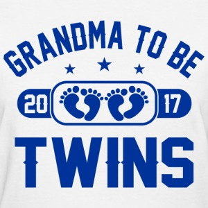 Grandma To Be Twins 2017 T-Shirts - Women's T-Shirt