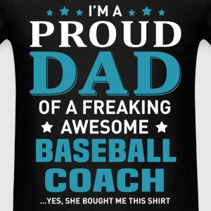 Baseball Coach's Dad - Men's T-Shirt