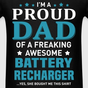 Battery Recharger's Dad - Men's T-Shirt
