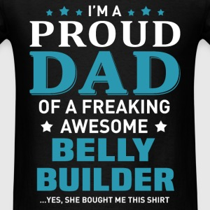Belly Builder's Dad - Men's T-Shirt