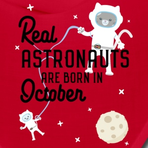 Astronauts are born in October Sz0kr Caps - Bandana