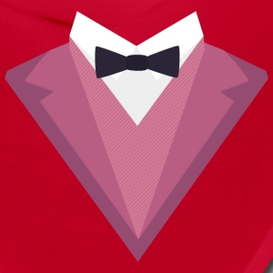 Pink Tuxedo Suit with bow tie Sp81h Caps - Bandana