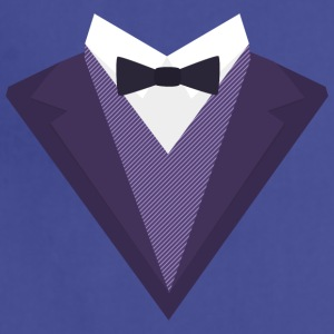 Violet Tuxedo Suit with bow tie S67ze Aprons - Adjustable Apron