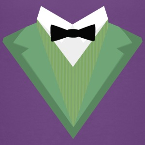 Green Tuxedo Suit with bow tie S3qgb Kids' Shirts - Kids' Premium T-Shirt