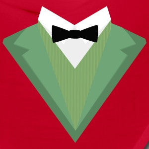 Green Tuxedo Suit with bow tie S3qgb Caps - Bandana