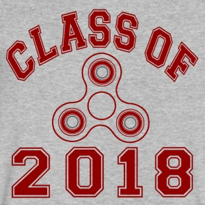 Class Of 2018 T-Shirts - Men's V-Neck T-Shirt by Canvas