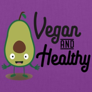 Vegan and Healthy Avocado S1sts Bags & backpacks - Tote Bag