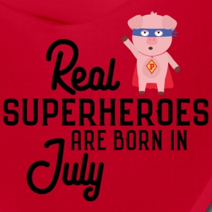 Superheroes-are-born-in-July So9em Caps - Bandana