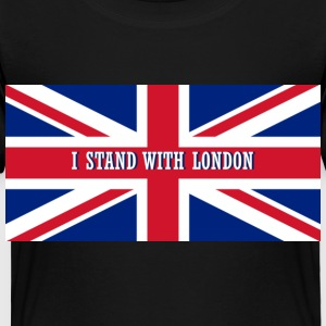 I Stand with London  - Toddler Premium T-Shirt