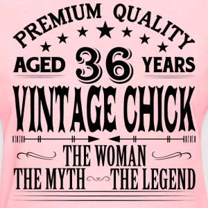 VINTAGE CHICK AGED 36 YEARS T-Shirts - Women's T-Shirt