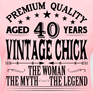 VINTAGE CHICK AGED 39 YEARS T-Shirts - Women's T-Shirt