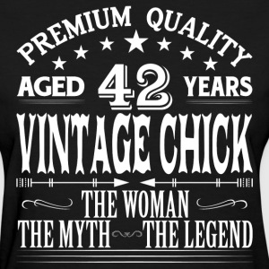 VINTAGE CHICK AGED 42 YEARS T-Shirts - Women's T-Shirt