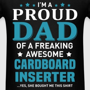 Cardboard Inserter's Dad - Men's T-Shirt