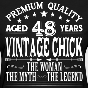 VINTAGE CHICK AGED 48 YEARS T-Shirts - Women's T-Shirt