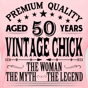 VINTAGE CHICK AGED 50 YEARS T-Shirts - Women's T-Shirt