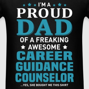 Career Guidance Counselor's Dad - Men's T-Shirt