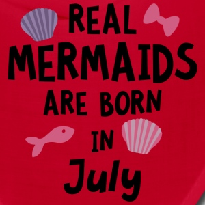 Mermaids are born in July Sg287 Caps - Bandana