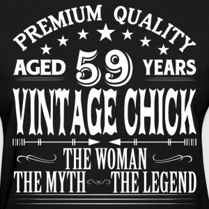 VINTAGE CHICK AGED 59 YEARS T-Shirts - Women's T-Shirt