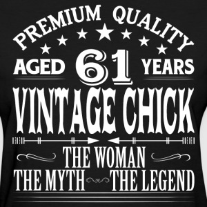 VINTAGE CHICK AGED 61 YEARS T-Shirts - Women's T-Shirt