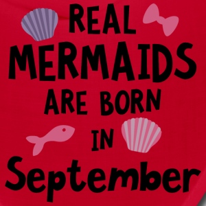 Mermaids are born in September S6i5o Caps - Bandana