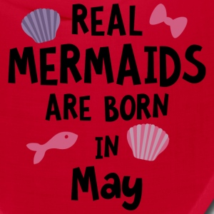 Mermaids are born in May Szp68 Caps - Bandana