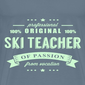 Ski Teacher Passion T-Shirt - Men's Premium T-Shirt