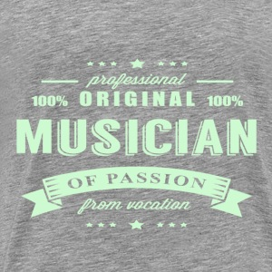 Musician Passion T-Shirt - Men's Premium T-Shirt
