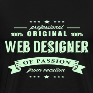 Web Designer Passion T-Shirt - Men's Premium T-Shirt