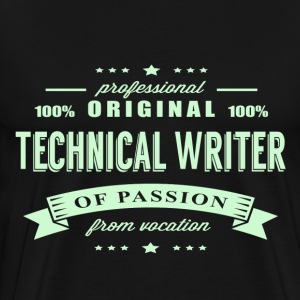 Technical Writer Passion T-Shirt - Men's Premium T-Shirt