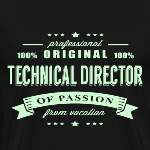 Technical Director Passion T-Shirt - Men's Premium T-Shirt