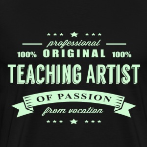 Teaching Artist Passion T-Shirt - Men's Premium T-Shirt