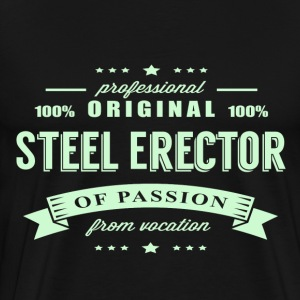 Steel Erector Passion T-Shirt - Men's Premium T-Shirt