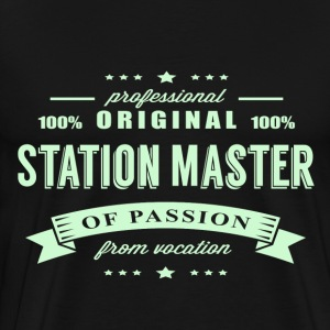 Station Master Passion T-Shirt - Men's Premium T-Shirt